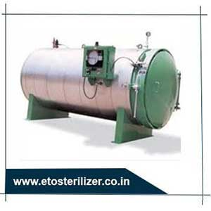 ETO Gas Sterilizer, Bio Medical Waste Sterilizer & Hospital Rectangular High Pressure Autoclave Manufacturer from Ahmedabad, Gujarat