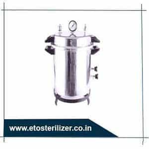 Fully Automatic High Volume High pressure Steam & ETO Combination Sterilizer.