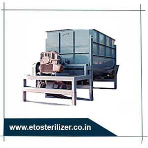 ETO Sterilizer for ribbon blender - used to sterilize heat- and moisture- sensitive devices that would be damaged by pure steam or liquid chemical sterilization