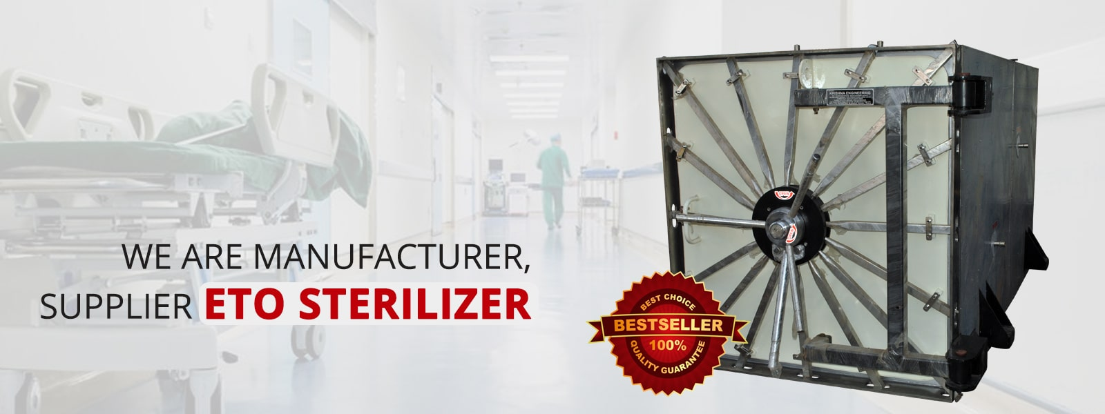 We even make sure that ETO Sterilizer have the necessary safety feature along with good performance ratio.