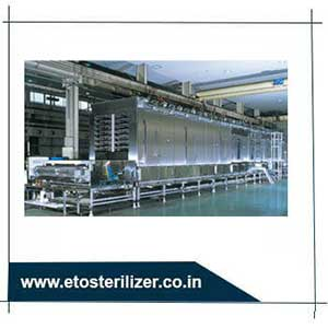 continuous steam sterilizer is the rapid transfer of heat to medium through steam condensate without the use of a heat exchanger.