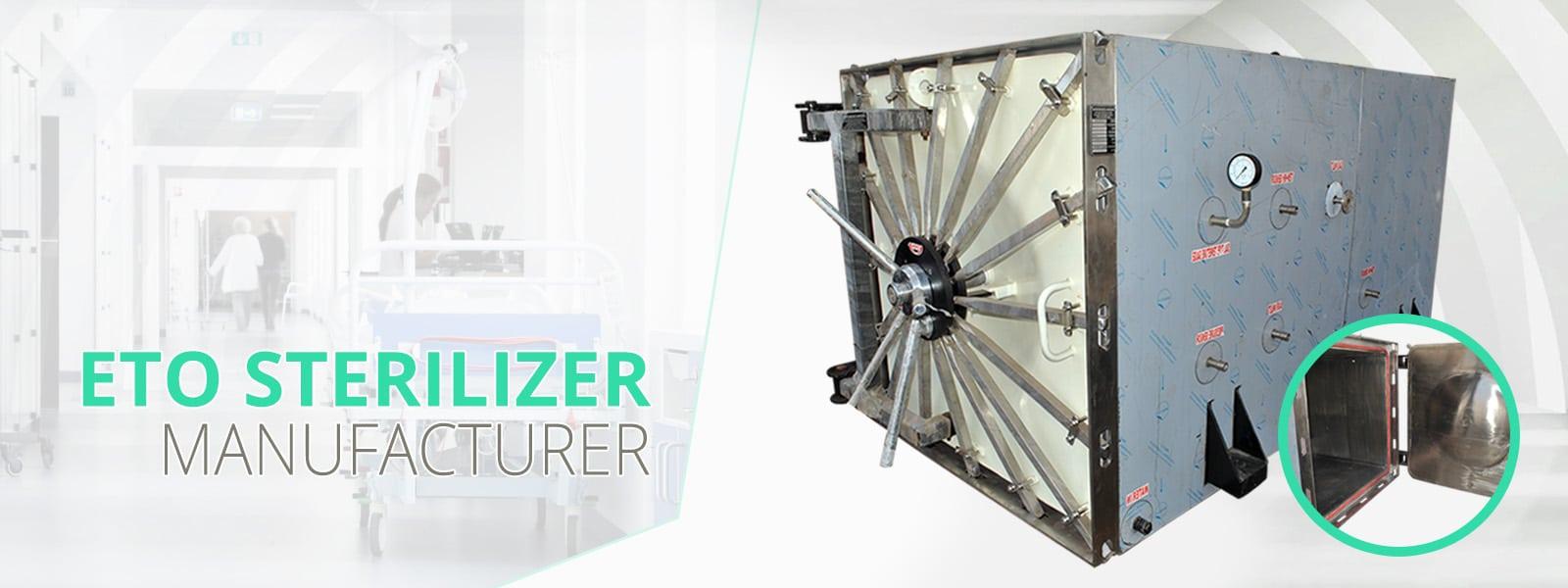 ETO sterilizer - We are offering a comprehensive range of ETO Sterilizer in India
