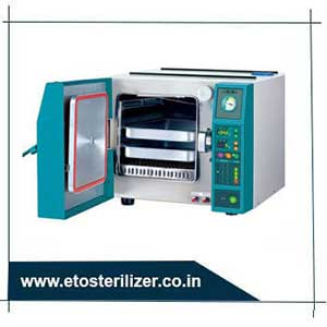 Instrument steam sterilizer has limited industrial application but is very commonly used in healthcare facilities.