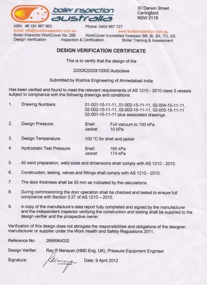 Retort Machine Exporter, Cylindrical Steam Sterilizer India