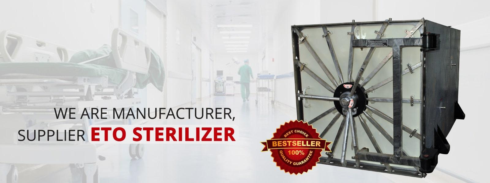 ETO Sterilizer Manufacturer, Gujarat, Exporter in Ahmedabad, Gujarat, India